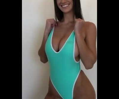 One Piece Swimsuit Models Showing off