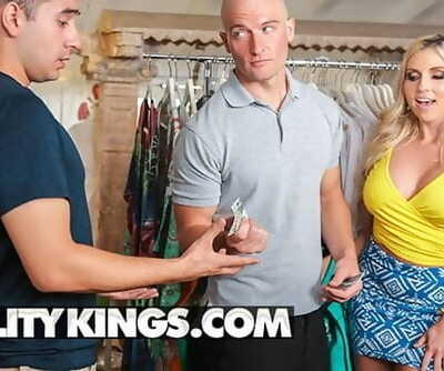 Reality Kings - Curvy Big Tit Blonde Christie Stevens