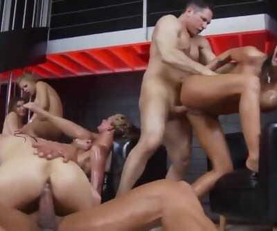 Big Tits Oil Orgy