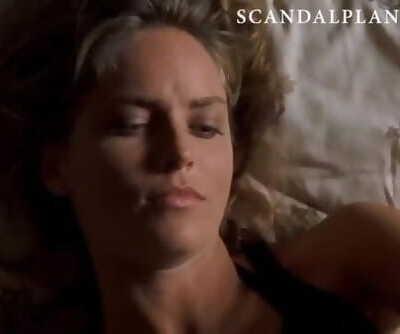 Sharon Stone Naked & Sex Scenes Compilation on ScandalPlanetCom