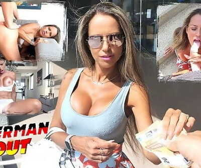 GERMAN SCOUT - FIT BIG TITS MILF HELENA I PICKUP AND FUCK AFTER PUBLIC SUCK I STREET CASTING