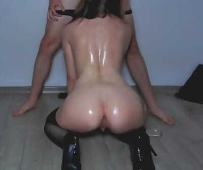 DONT CUM INSIDE ME! 18 YO STRIPPER FUCKS WITHOUT CONDOM! OILY ROUGH SEX WITH REAL ESCORT STRANGE