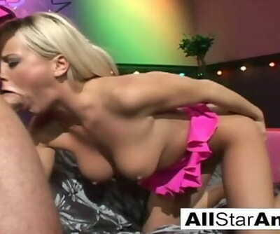 Blonde Babe Bree cant get enough Anal Sex
