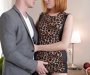 Hot redheaded wife Tarra White..
