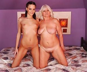 Lecherous granny has some pussy..
