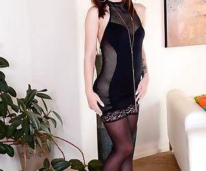 Long legged Anikka Albrite & Lily..