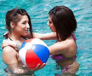 Lesbian pornstars Abella Dangera..