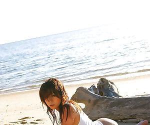 Loveable asian girl showcasing..