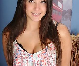 Amateur teenager Natalie Monroe..