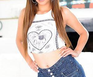 Attractive brunette Katya..
