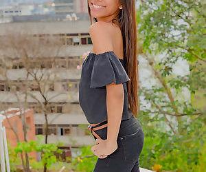 Slim solo girl Karin Torres..