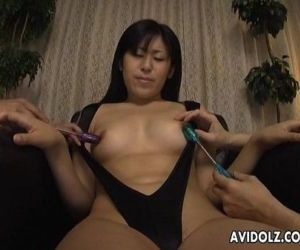 Asian kamikaze girl getting her..