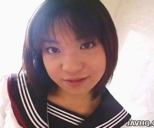 Pretty Japanese schoolgirl..