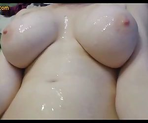 Huge Tits on Skinny Young..