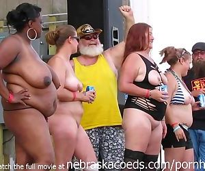 amateur strip contest at iowa..