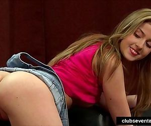 Superb teen model gets nailedHD