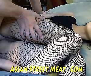 Demure Anal Angel Delivers Asian..