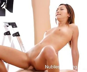 Nubiles Casting - Squirting asian..