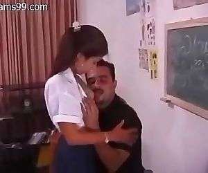 Indian Teacher Teach Sex 11 min