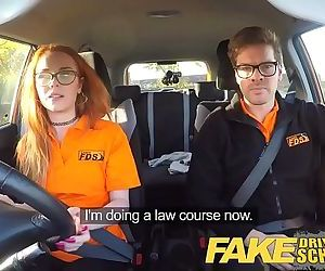 Fake Driving School Nerdy ginger..