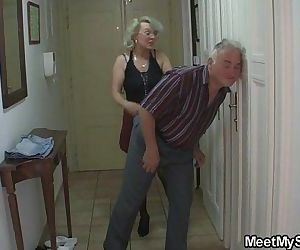 He finds his mom and dad fucking..