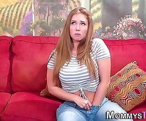 Milf stepmom licks pussy 6 min