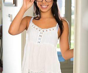Latina teenager Gina Valentina..