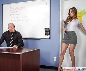 Sexy secretary Jillian Janson is..