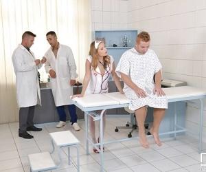 Teen Euro nurse Sofi Goldfinger..