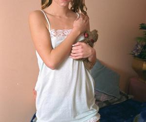 Stunning amateur teen Crystal..