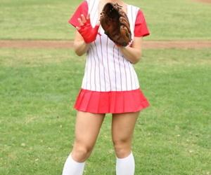 Big boobed baseball player Kylee..