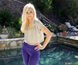 Stunning blonde babe Alexa Grace..