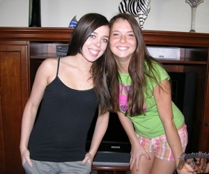 Two 18 year old amateur girls..