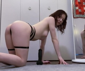 White Teen Rides and Worships BBC..