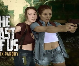 THE LAST OF US Ellie and Riley..