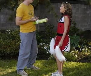 Slutty cheerleader gets tricked..