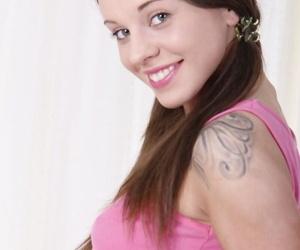 Adorable teen Lita Phoenix takes..