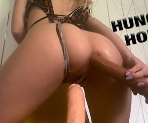 HORNY TEEN NEEDS two DICKS IN HER..