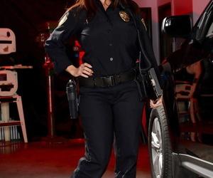 Curvy police Ava Addams strikes..