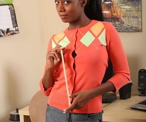 Amateur ebony babe Monica..