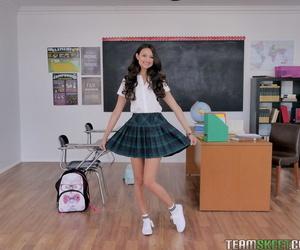 Latina schoolgirl Eliza Ibarra..