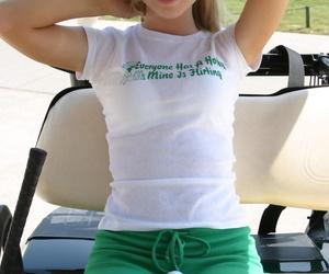 Cute blonde girl Skye Model..