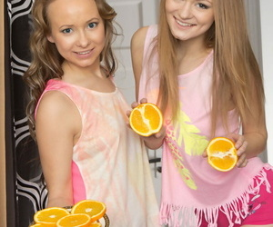 Young looking lesbians Alsu &..