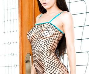 Hot brunette Lana Rhoades..