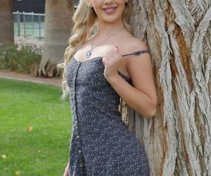 Blonde ex-gf Bella Rose flashes..
