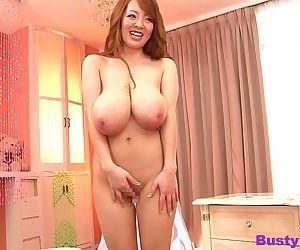Busty asian hitomi tanaka giant natural tits hardcore -..