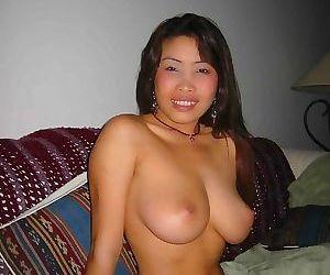 Boyfriend submits pics of his perfect tit thai girlfriend..