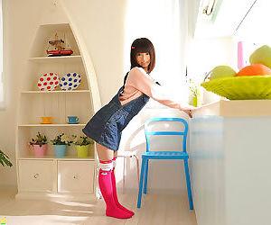 Petite teen japanese schoolgirl riding cock and creampied..