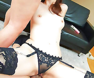 Asian hardcore dp sex pictures with hairy pussy fucking -..