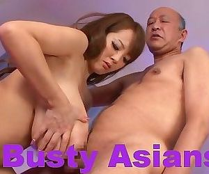 Big boobs japanese hitomi tanaka fucked in the bed - part..